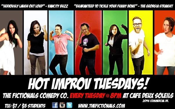 Hot Improv Tuesdays