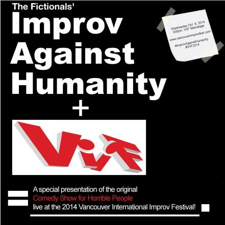 Improv Against Humanity at the Vancouver International Improv Festival