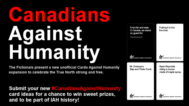 Canadians Against Humanity promo poster