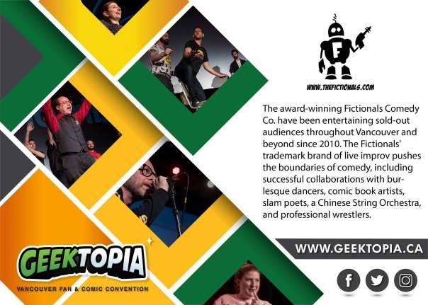 The Fictionals at Geektopia
