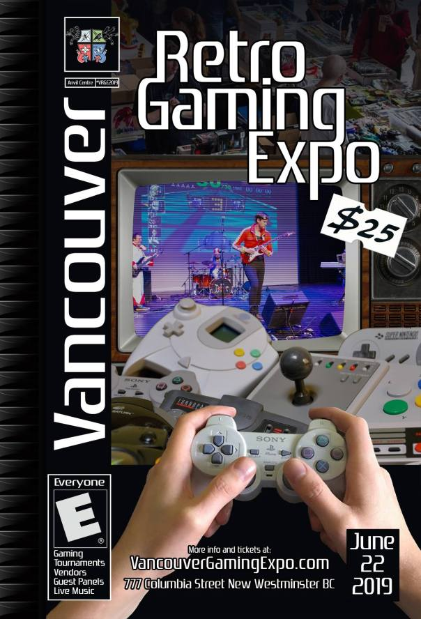 Vancouver Retro Gaming Expo poster