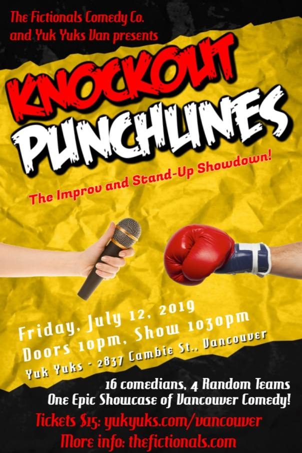 Knockout Punchlines Poster
