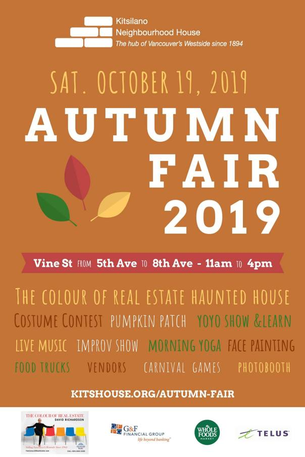 Kits House Autumn Fair poster
